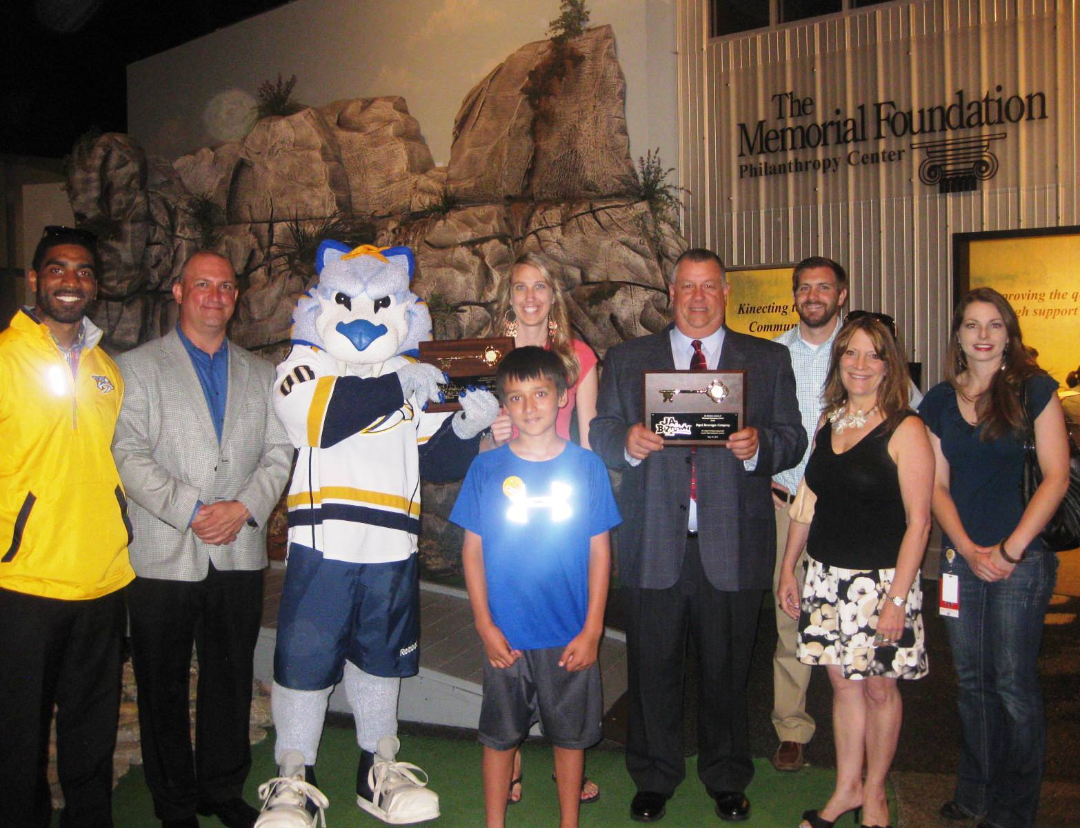 Pepsi, Predators team up again for sponsorship of JA BizTown program for 5th graders